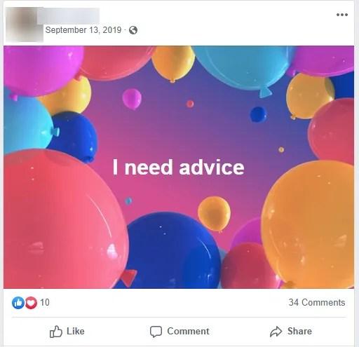 Совет Facebook