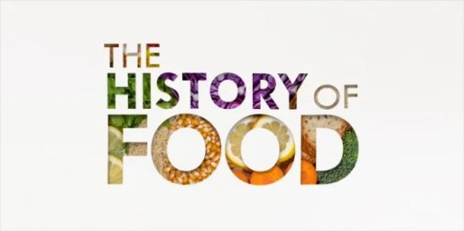 The History of Food title card