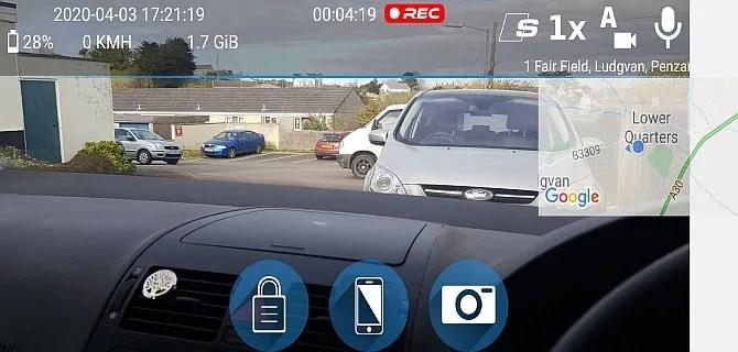 приложение для Android dashcam travel