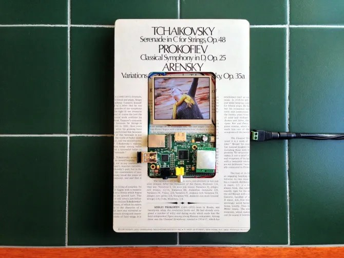 Создайте цифровую фоторамку с низким энергопотреблением Raspberry Pi