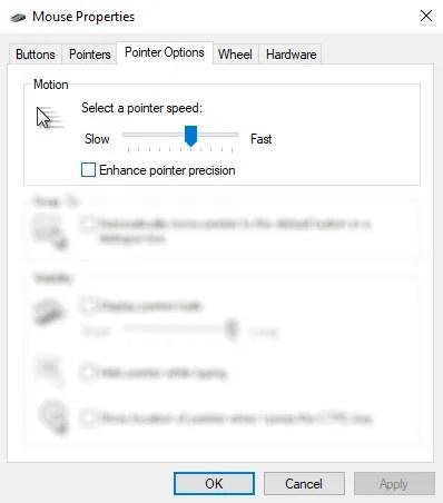 قم بتعطيل تحسينات الماوس لتحسين ألعاب Windows 10