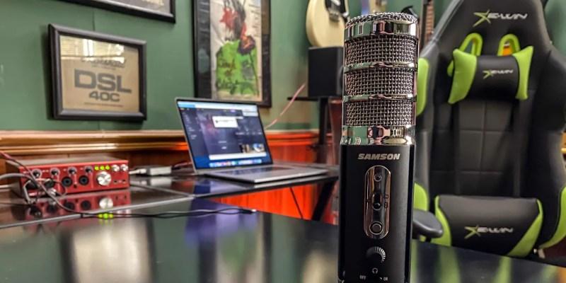 Samson спутниковый USB настольный микрофон