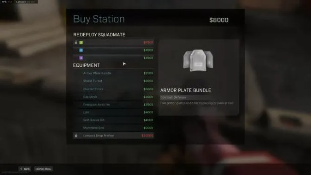 Warzone Buy Station