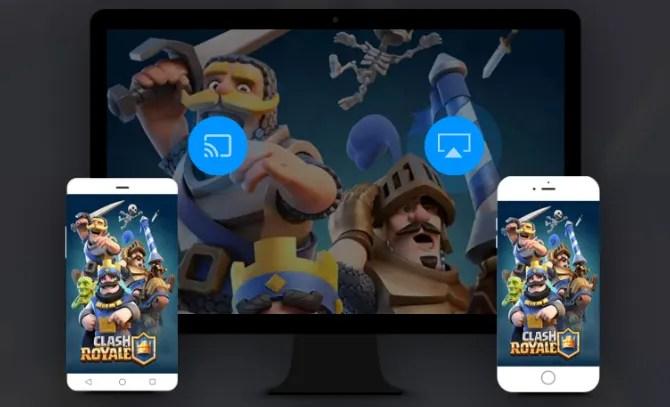 يعرض ApowerMirror تدفق جهاز iPhone و Android على التلفزيون