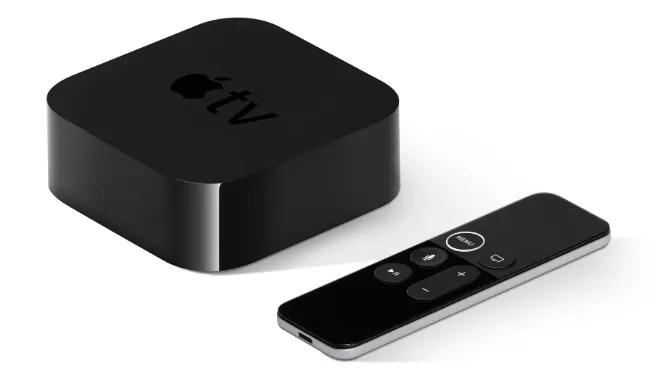 Apple TV и Siri Remote