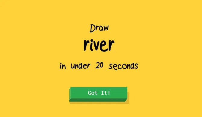 Using Quick Draw as an art game for kids