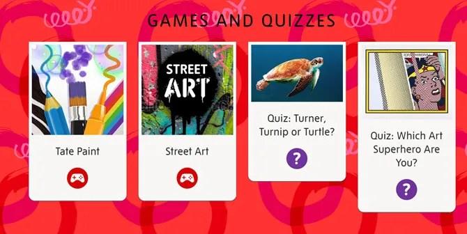 Tate Museum Art Games