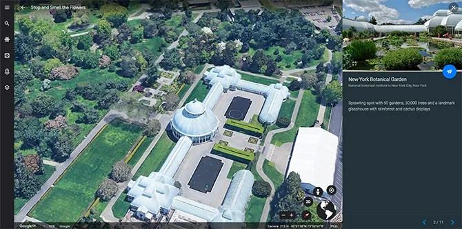 Google Tour Ботанические Сады Вокруг Света