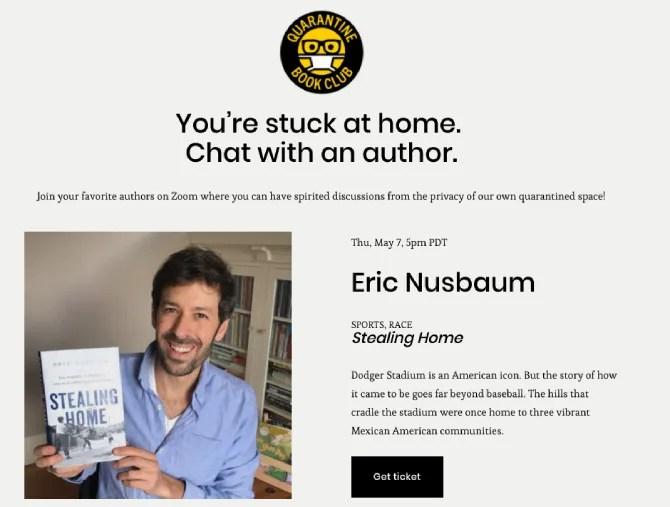 Книжный клуб Карантина - это виртуальный книжный тур, где авторы общаются с читателями и отвечают на вопросы о своей книге.