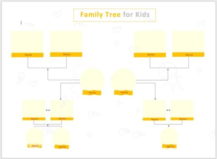 Family Tree Template Photo-TemplateNet