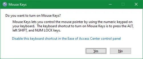 Мышь Клавиши Windows