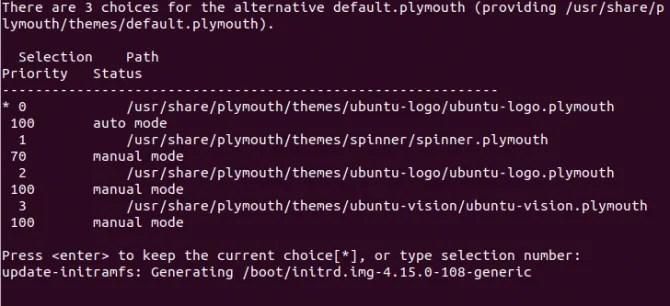 Установить темы заставки Ubuntu