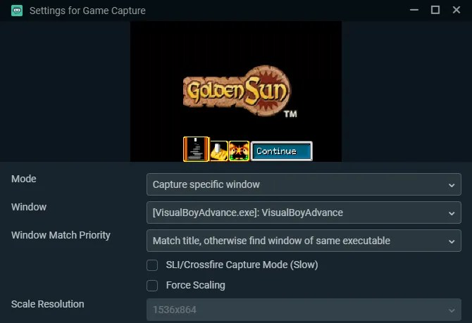 Streamlabs Добавить источник игры
