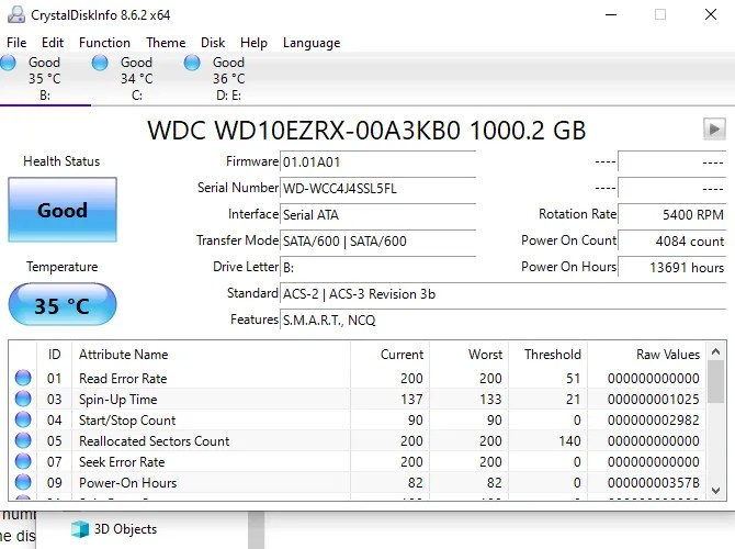 crystal disk info temperature monitor
