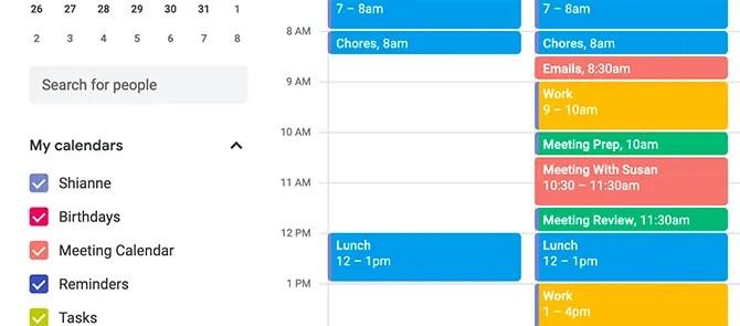 Блокировка времени Google Calendar для подготовки к встрече