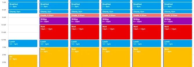 Использование блокировки календаря Google для глубокой работы