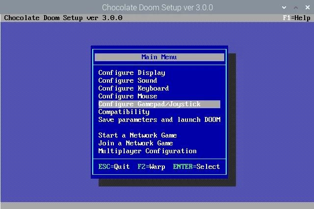 Настройте контроллер для Doom на Raspberry Pi