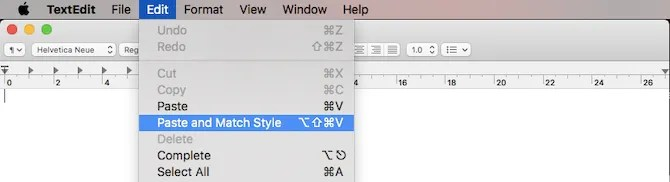 вставить список приложений Mac