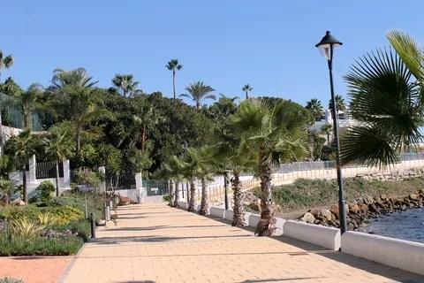 Vista de la actuación en la zona de Punta Doncella