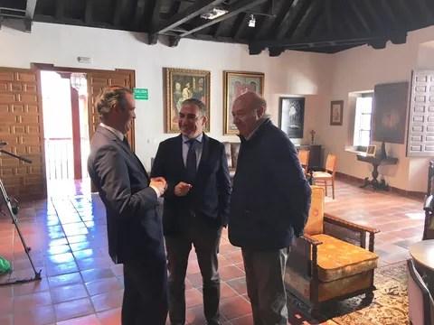 Elías Bendodo, Pablo Atencia y José Carretín