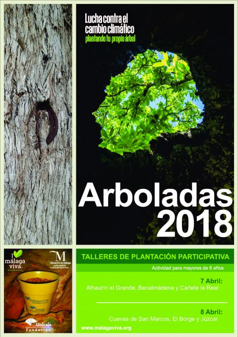 Cartel arboladas primavera 2018