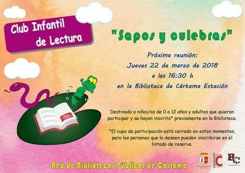 Reunión Club Lectura infantil 220318