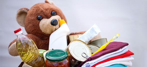 Πράγματα που μπορείτε να δωρίσετε ΕΚΤΟΣ από ρούχα και τρόφιμα