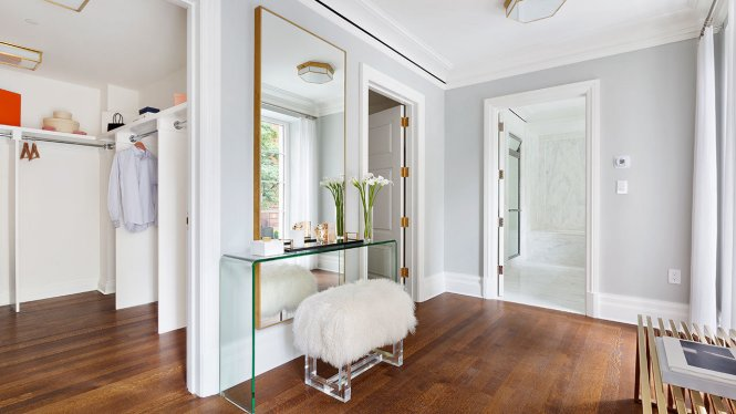 He Master Suite Has An Extra Large Dressing Room With Walk In Closets