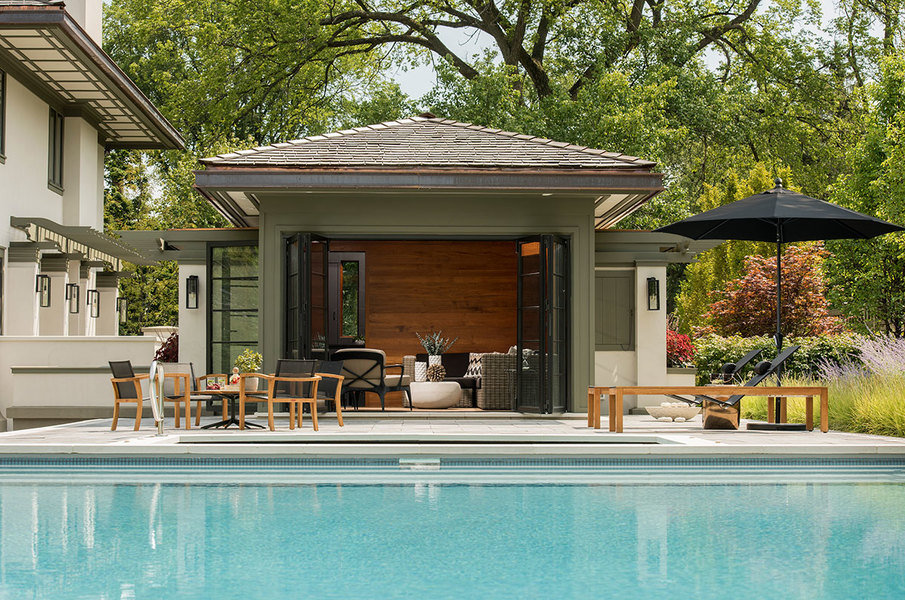 How To Design A Pool Houseundefined