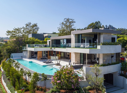 New James Bond Style Beverly Hills Spec House To Hit Market At 30 Million Mansion Global