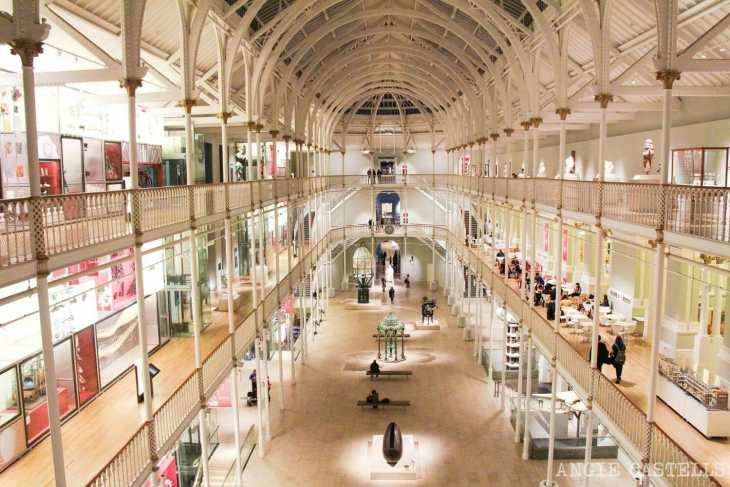 El Museo Nacional de Escocia, un museo fascinante en Edimburgo