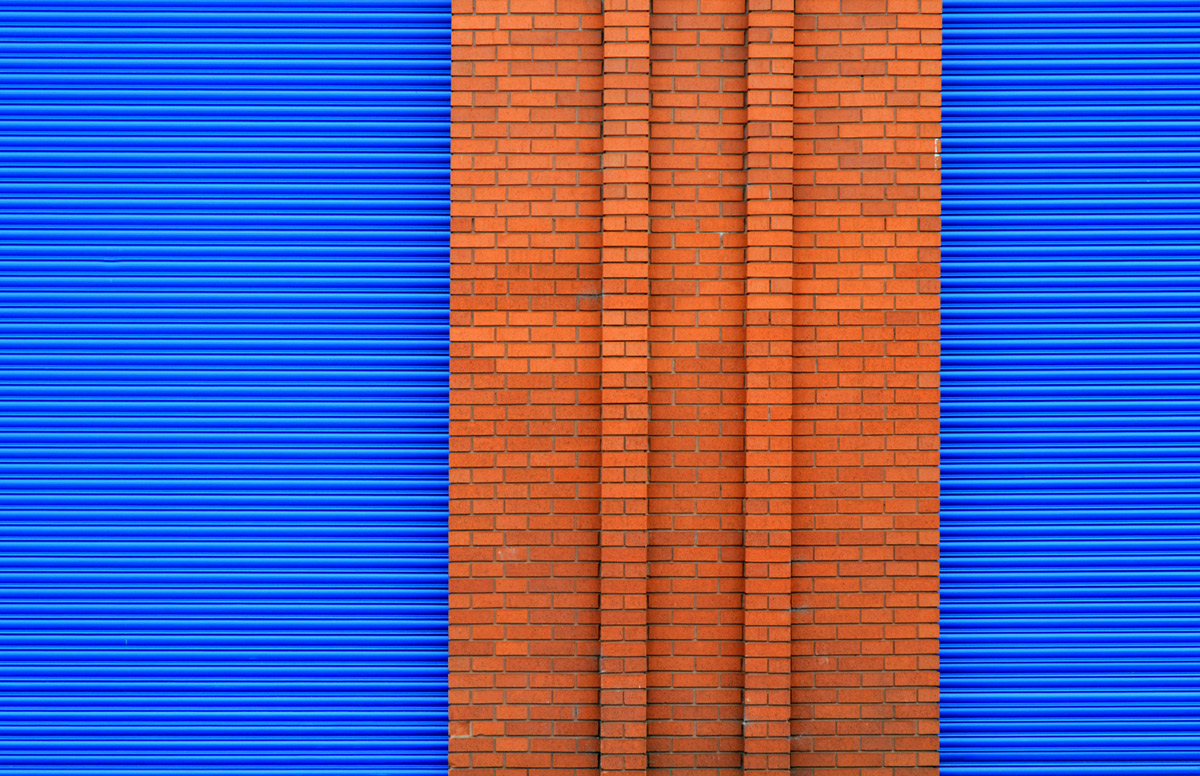 Colorful And Abstract Industrial Minimalist Photography By