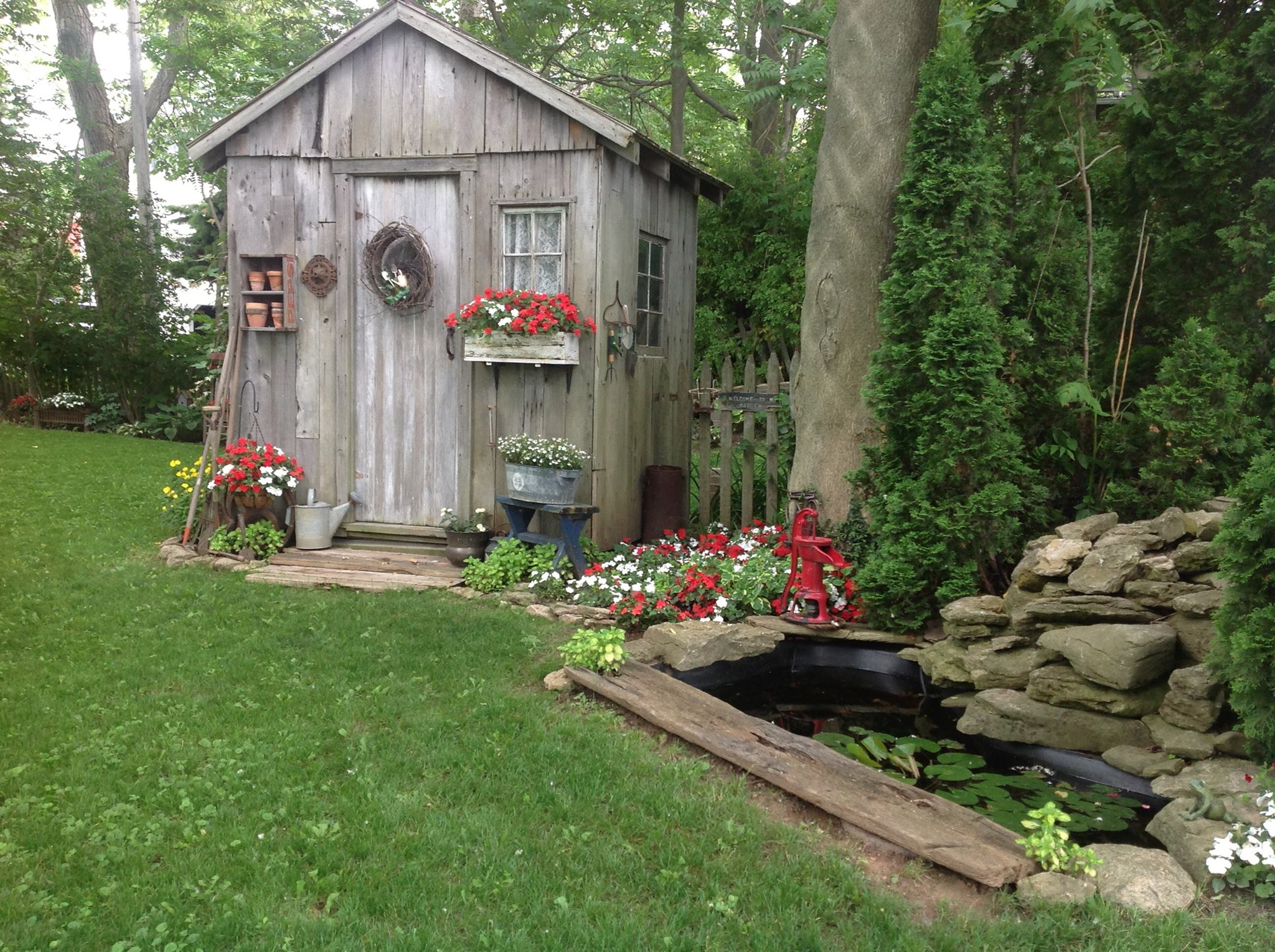 Fairytale Backyards: 30 Magical Garden Sheds on Magical Backyard Ideas id=43398