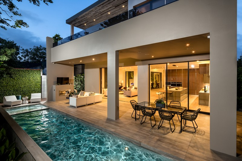 Modern Dream House in West Hollywood Prime Five Homes on Dream House Backyard id=14962