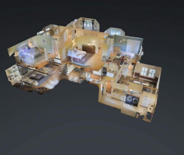 3d Real Estate Tour Showing The Dollhouse View