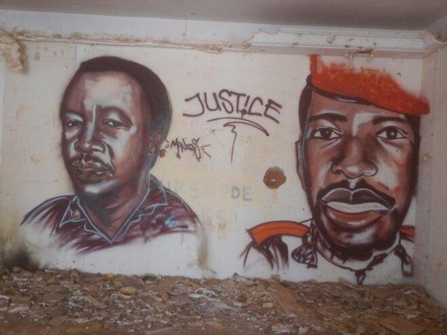 Photo prise au domicile de Franois Compaoré après l'insurrection © DR