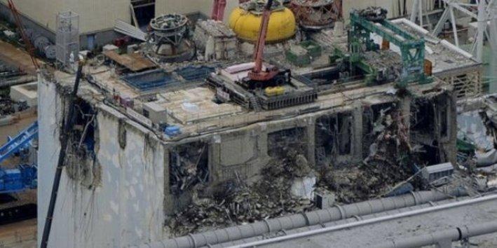 Vue de la centrale de Fukushima, le 18 juillet 2012 (Reuters/Kyodo).
