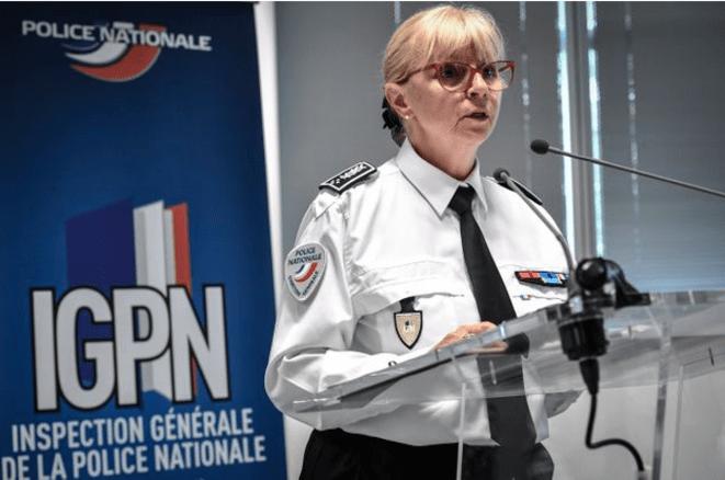 Brigitte Jullien, directrice de l'Inspection générale de la police nationale. © AFP.