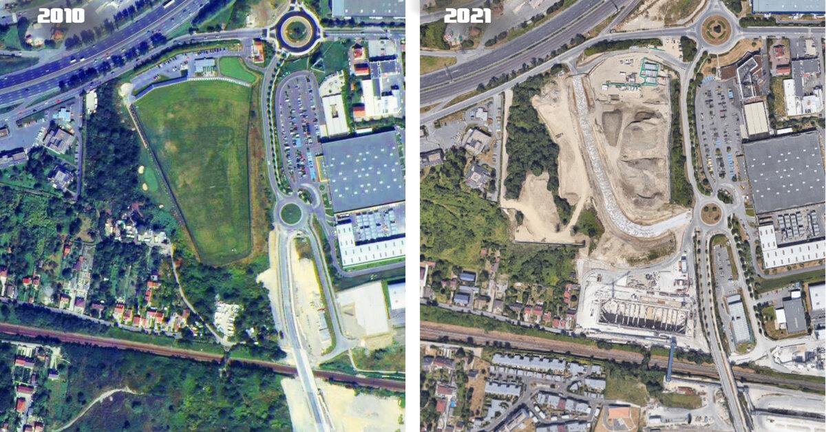 L'impact environnemental des gares du Grand Paris devient visible