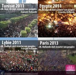 """Illustration diffusée par des militants du """"Printemps français"""""""