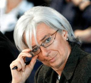 Christine Lagarde, la ministre qui voulait un «guide».