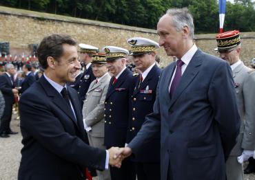 Sarkozy et Courroye