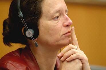 L'eurodéputée socialiste Pervenche Berès.