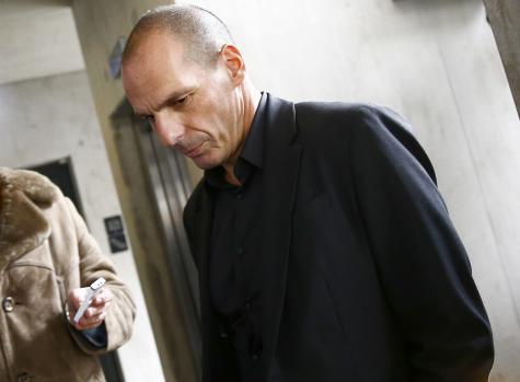 Yanis Varoufakis, le 4 février à la BCE