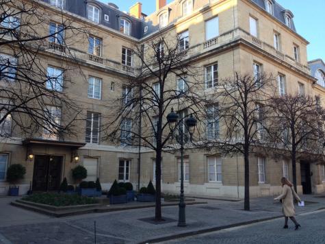 L'hôtel des questeurs à l'Assemblée, sur quatre étages
