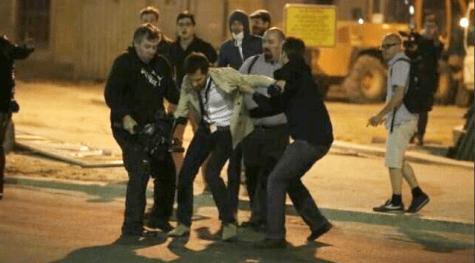 L'un des deux journalistes de LCP agressé par des manifestants.