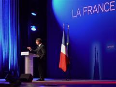 N. Sarkozy à la Mutualité, le 11 avril.
