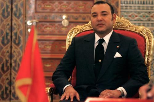 Le roi Mohammed VI du Maroc