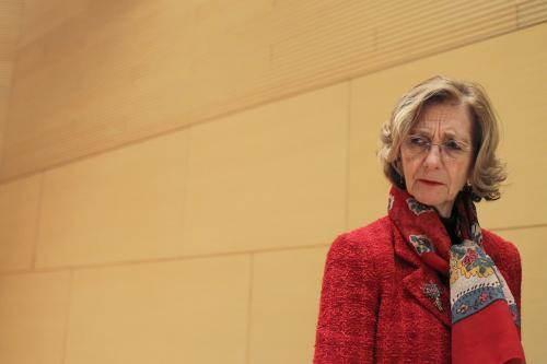Nicole Bricq, le 21 janvier 2013.