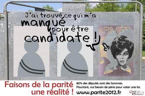 Une des affiches de la campagne d'OLF